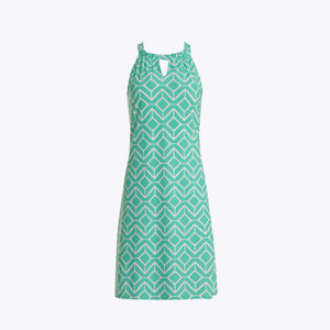 Jude Connally Lisa Dress - Sail Geo Seafoam