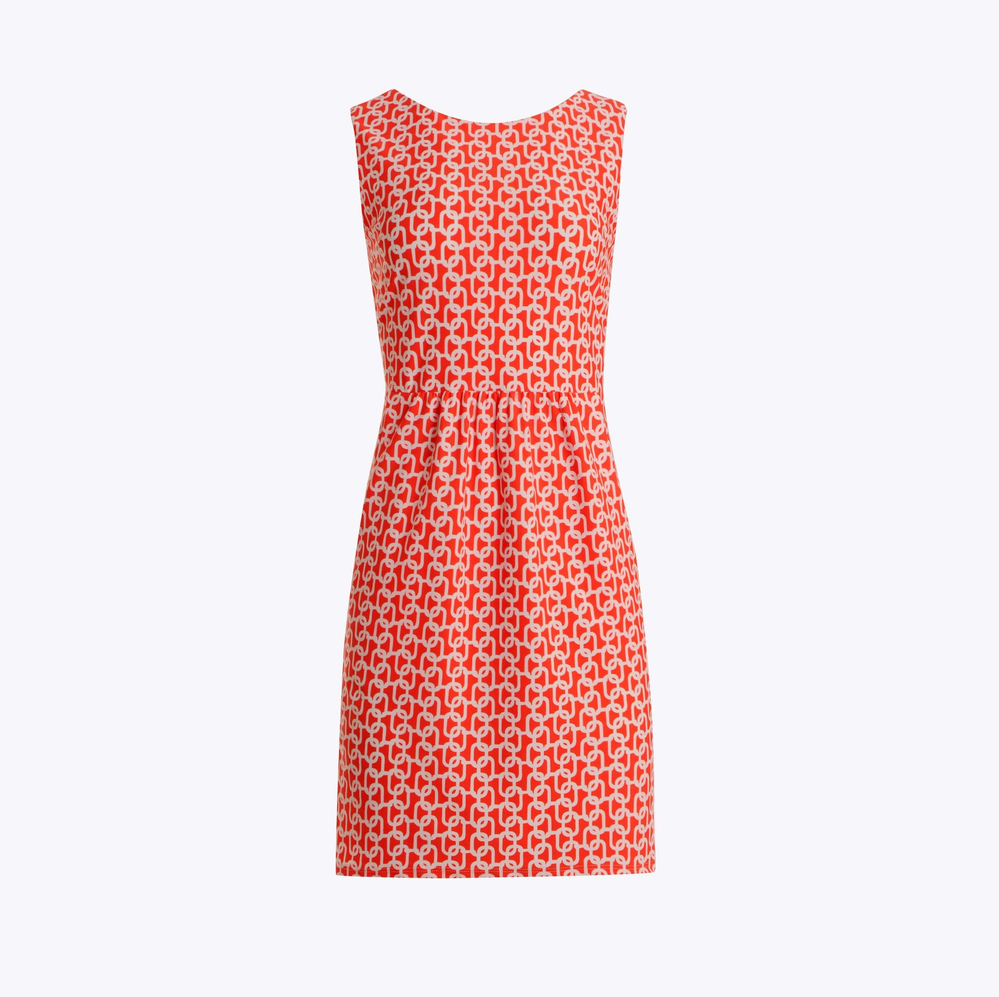 Jude Connally Mary Pat Dress - Chain Link Apricot