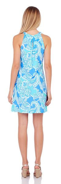Jude Connally Lisa Paisley Maxi Soft Blue by Jude Connally from THE LUCKY KNOT - 2