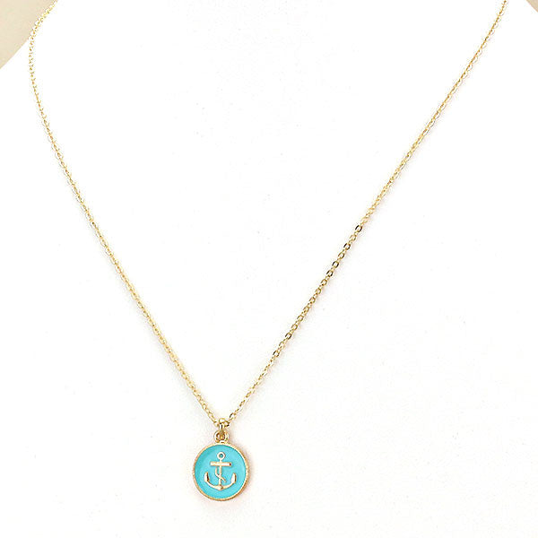Anchor Necklace by Jewelry from THE LUCKY KNOT - 2