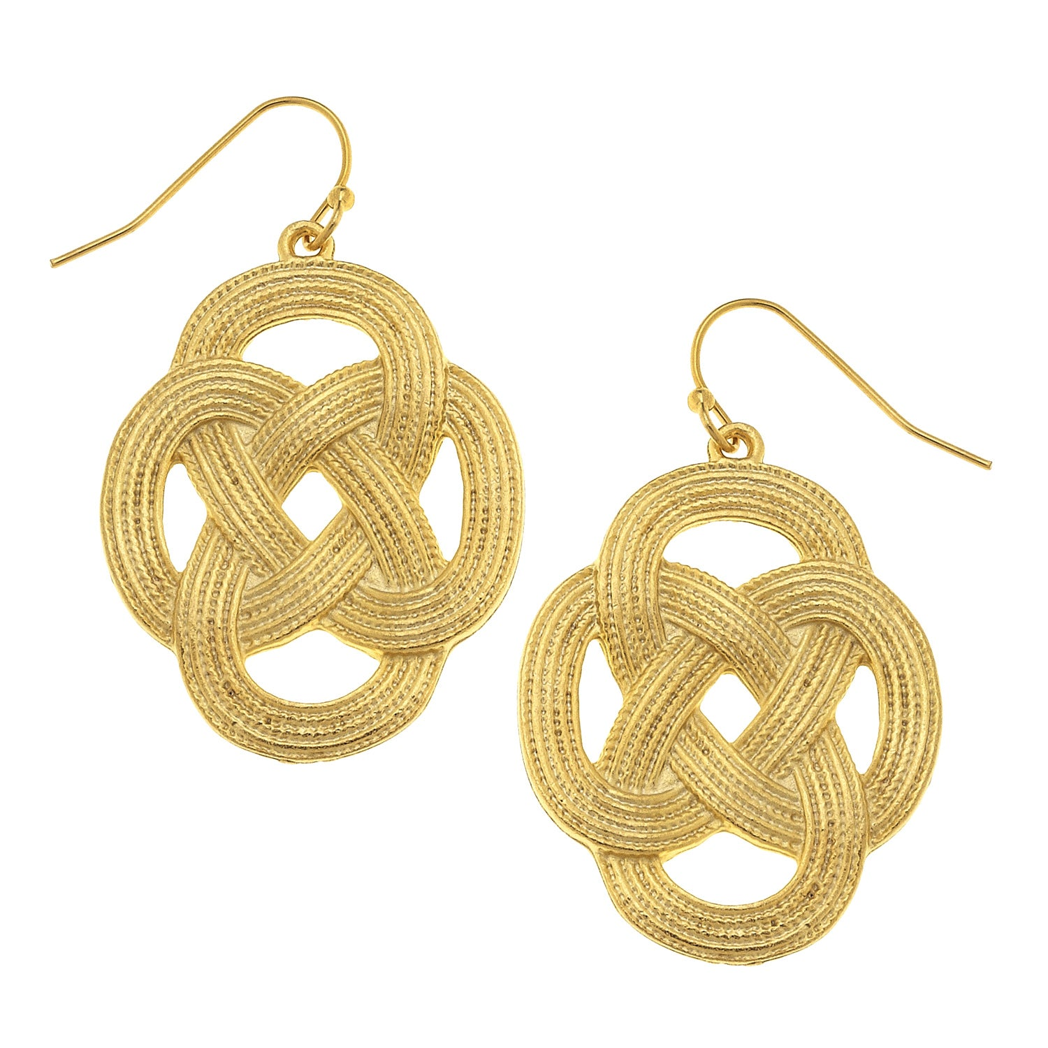 Susan Shaw Woven Loop Earrings
