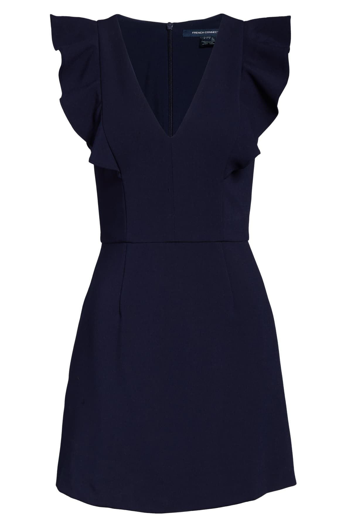 French Connection Cameron Dress - Duchess Blue