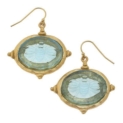 Susan Shaw Venetian Bee Earrings