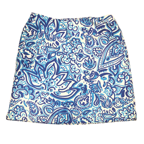 Katherine Way Kiawah Skort - Floral Fun Royal