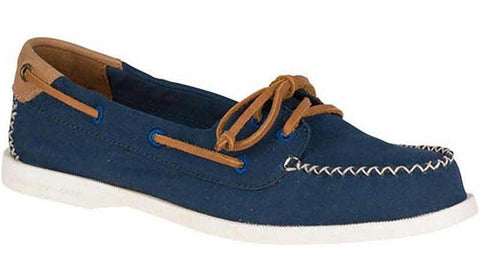 Sperry A/O Venice Canvas Boat Shoe Navy