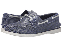 Sperry Women's A/O 2 Eye Snake Navy by Sperry Top-Sider from THE LUCKY KNOT - 2