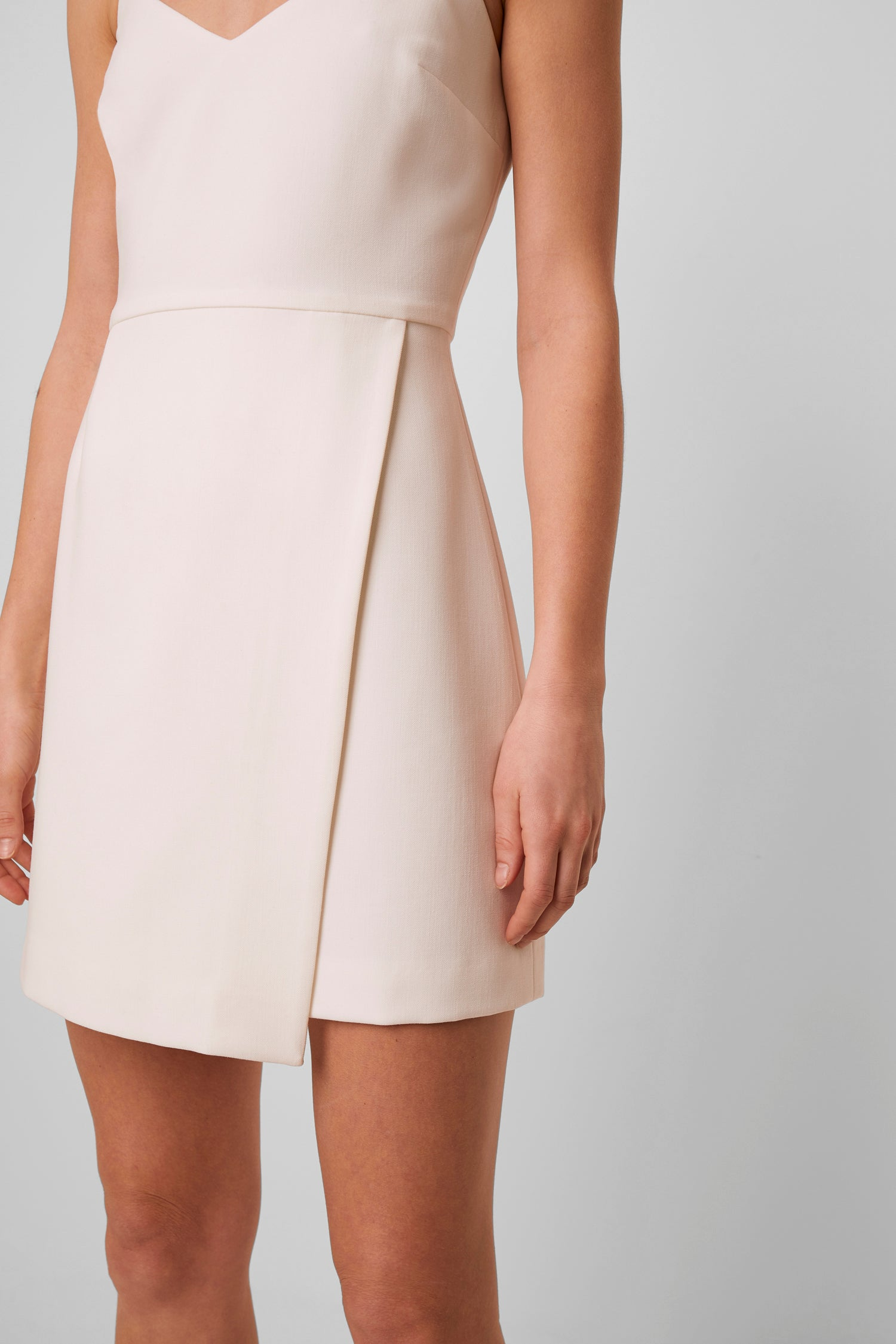 French Connection Demi Dress - Summer White