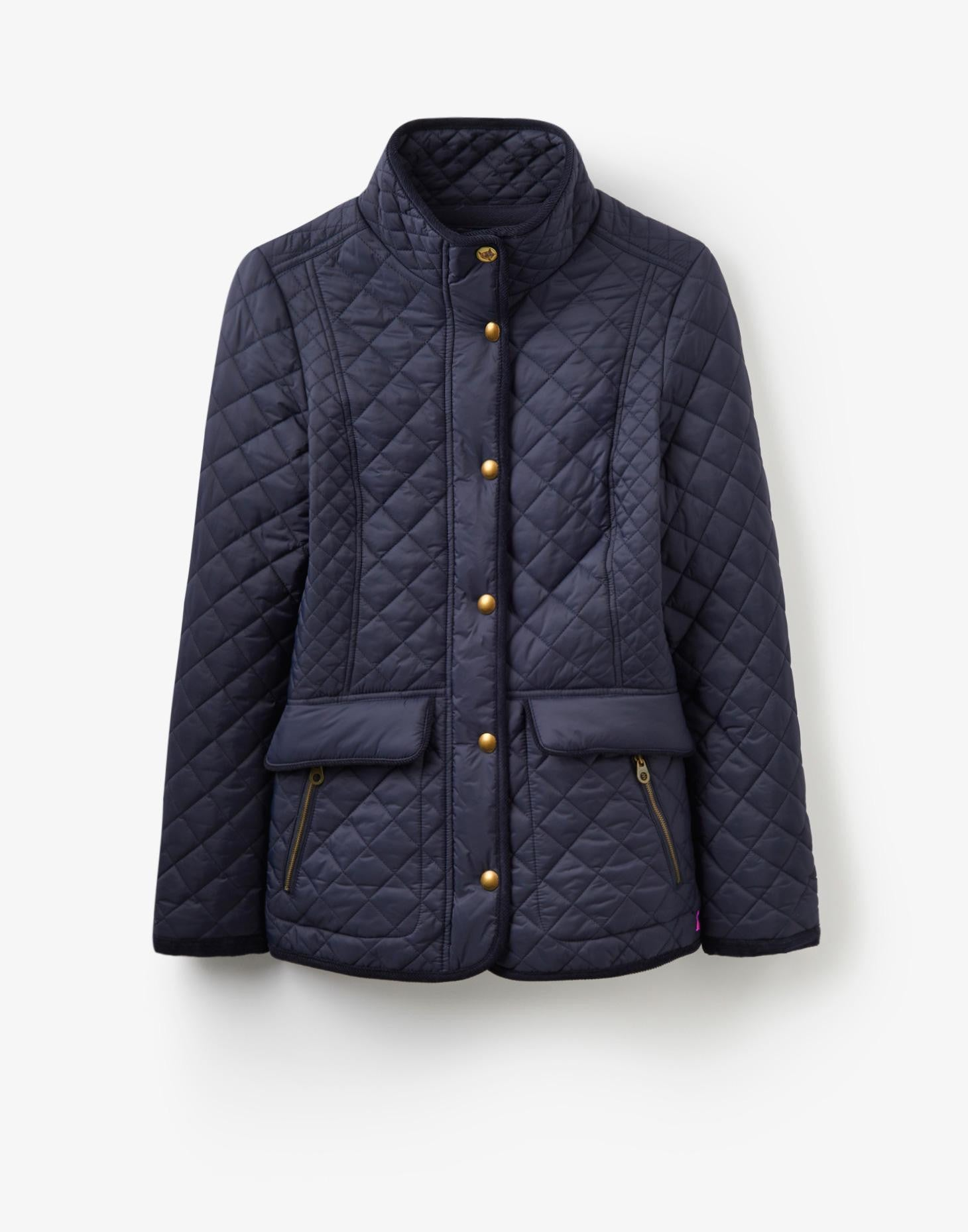 Joules Newdale Jacket - Navy by Joules from THE LUCKY KNOT - 3