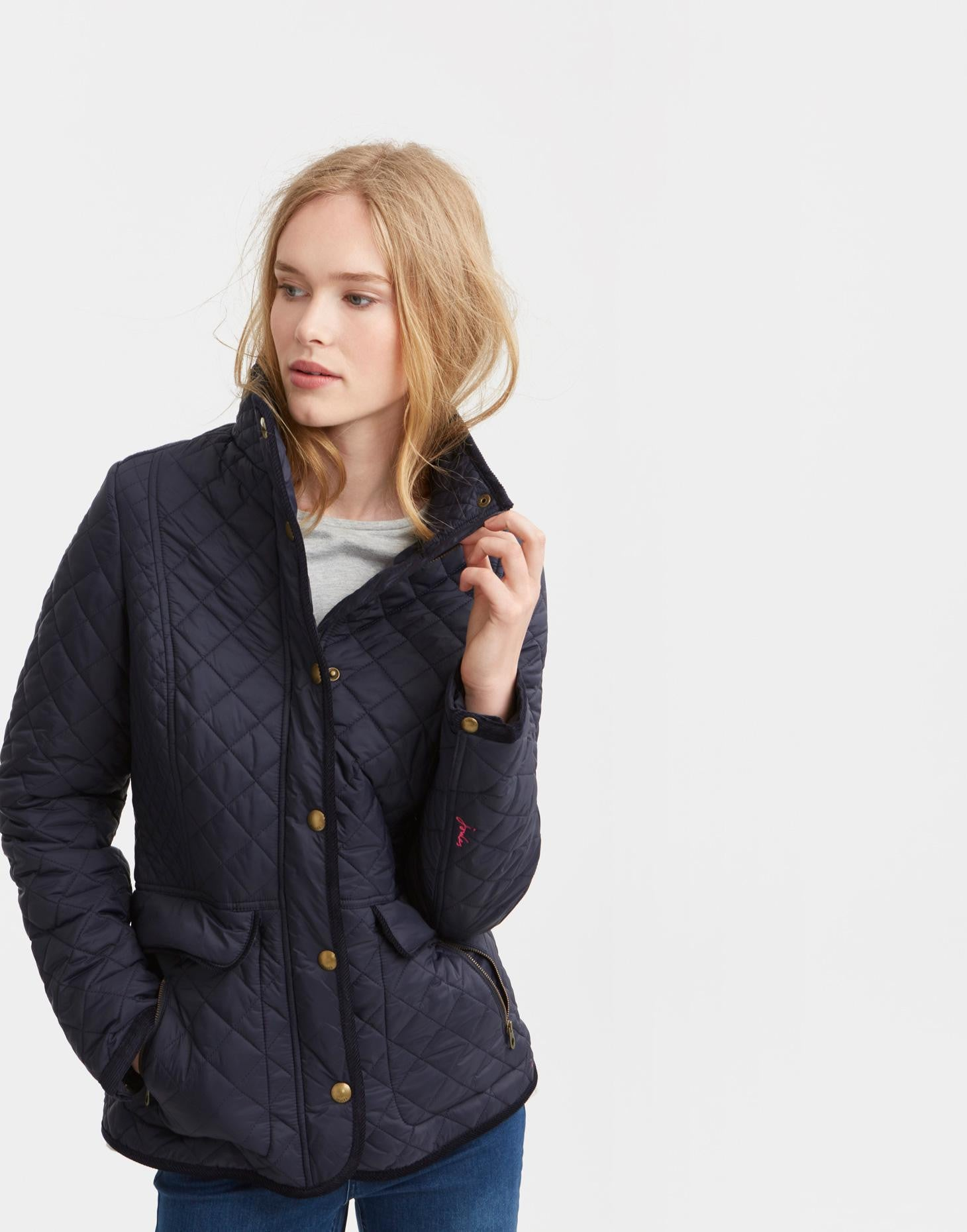 Joules Newdale Jacket - Navy by Joules from THE LUCKY KNOT - 1