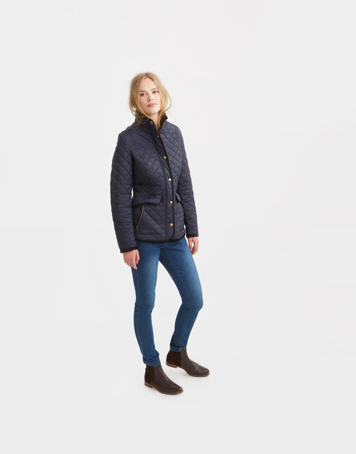 Joules Newdale Jacket - Navy by Joules from THE LUCKY KNOT - 2
