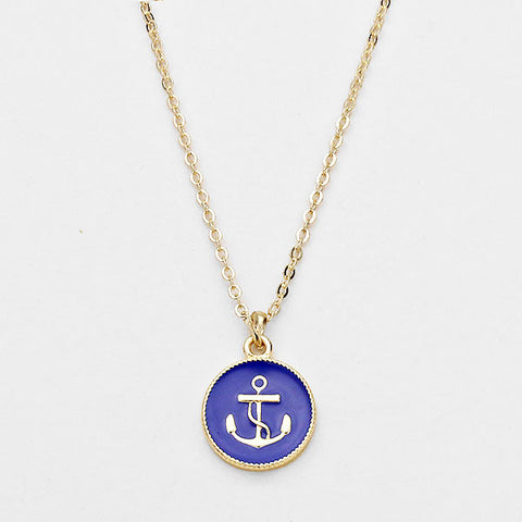 Anchor Necklace by Jewelry from THE LUCKY KNOT - 1