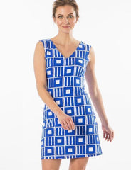 Mahi Gold Paradise Dress - Penelope - Sailor Blue
