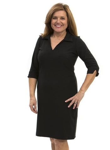 Katherine Way Nola Dress In Black