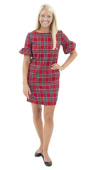 Sailor Sailor Dockside Dress - Red Plaid