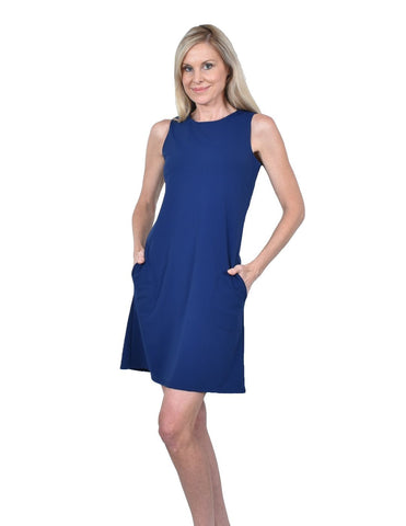 Southwind Apparel Belmont Shift Dress Navy