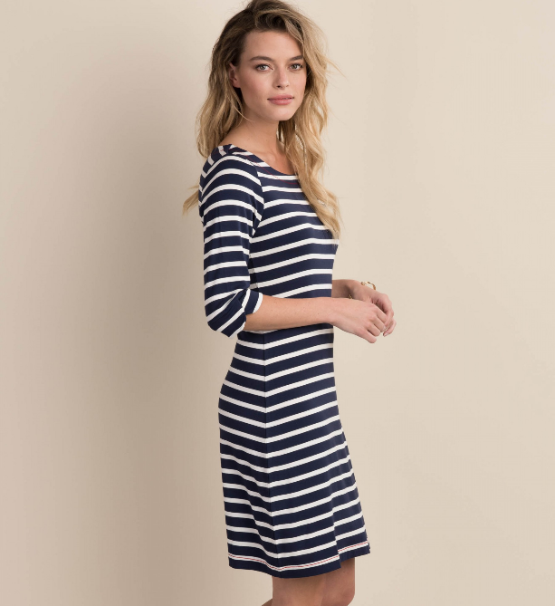 Hatley Lucy Dress - Classic Stripes