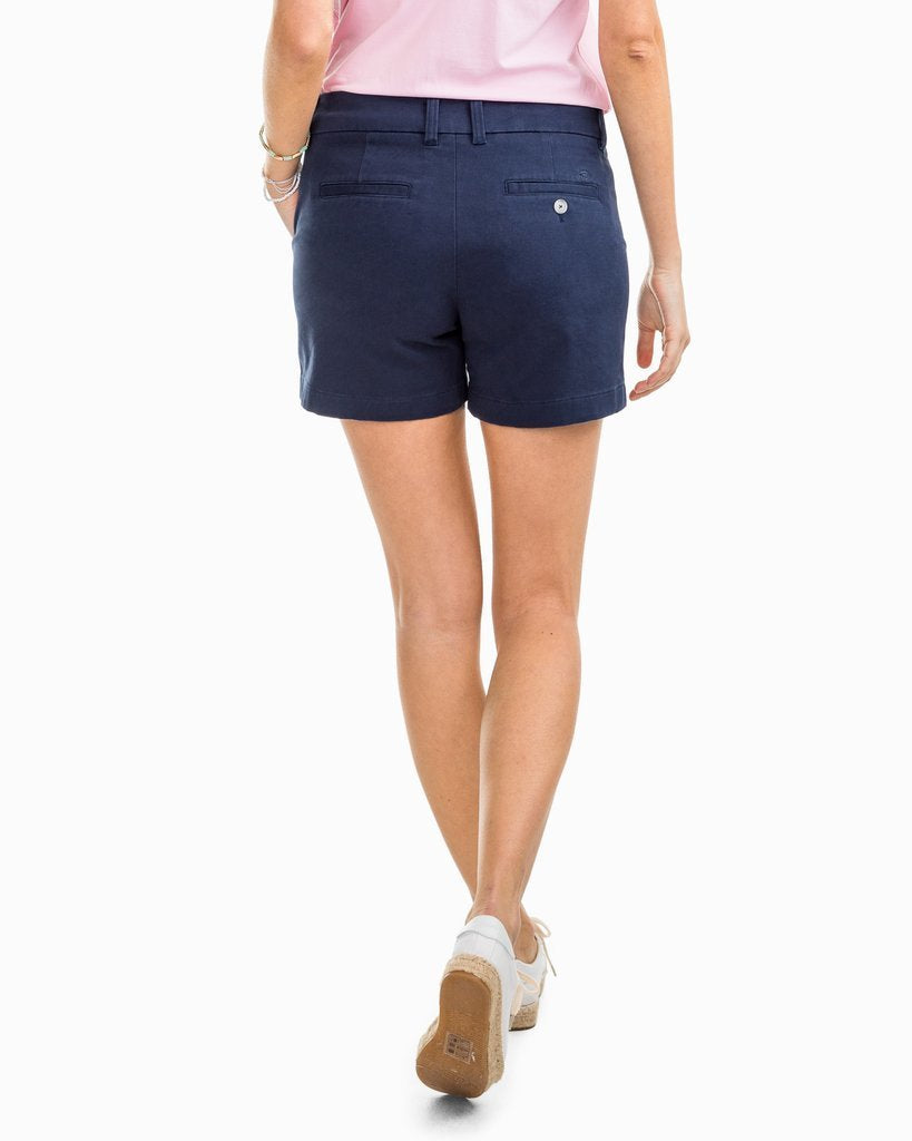 "Southern Tide 5"" Caroline Short - Nautical Navy"