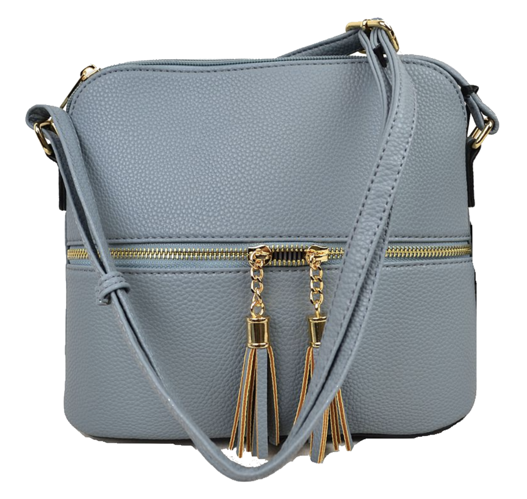 Crossbody Purse - Dusty Blue