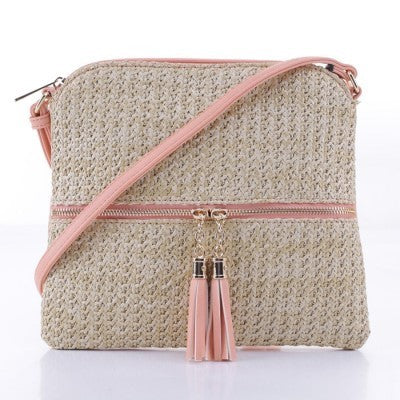 Nantucket Crossbody - Peach