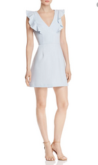 French Connection Cameron Dress - Light Dream Blue