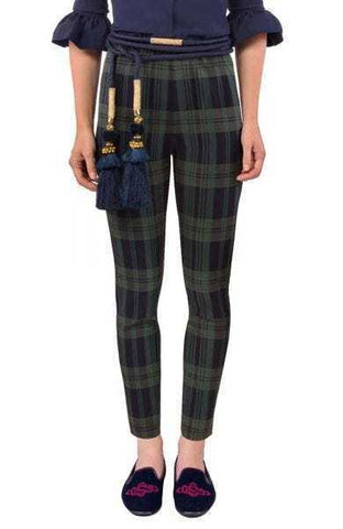 Gretchen Scott Pull On Pants - Duke of York - Green/Multi
