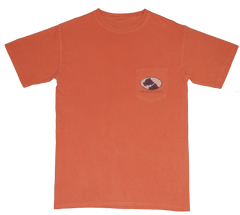 Lucky Knot DPC Shirt - Orange by Dixie Peaches Couture from THE LUCKY KNOT - 2
