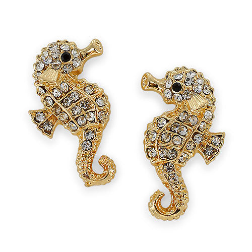 Mr. Seahorse Stud Earrings by Jewelry from THE LUCKY KNOT