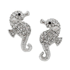 Mrs. Seahorse Stud Earrings by Jewelry from THE LUCKY KNOT
