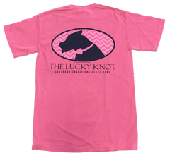 Lucky Knot DPC Shirt - Pink by Dixie Peaches Couture from THE LUCKY KNOT