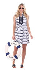 Duffield Lane Mackinac Dress - Sailboat
