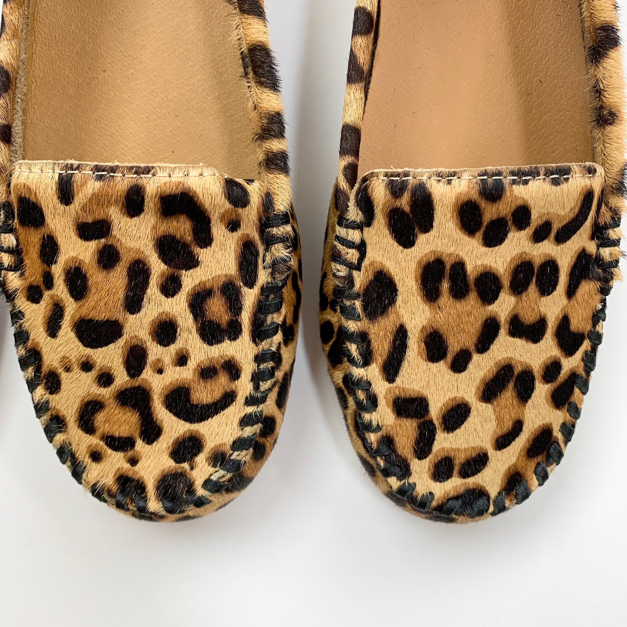 Jack Rogers Millie Leopard Haircalf Moccasin