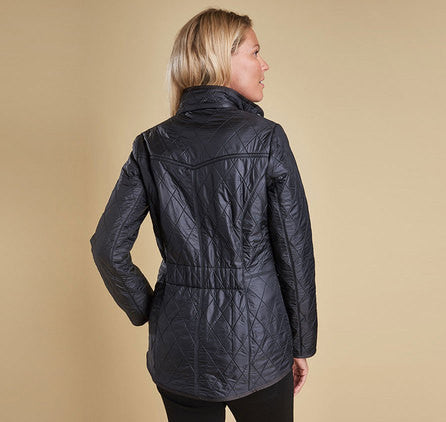 Barbour Cavalry Polarquilt Jacket - Black by Barbour from THE LUCKY KNOT - 4
