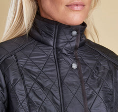 Barbour Cavalry Polarquilt Jacket - Black by Barbour from THE LUCKY KNOT - 5