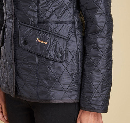 Barbour Cavalry Polarquilt Jacket - Black by Barbour from THE LUCKY KNOT - 6
