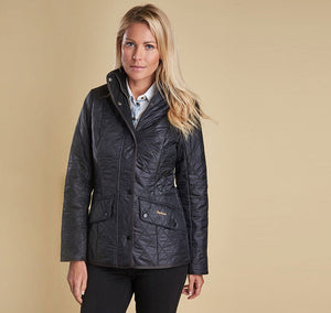 Barbour Cavalry Polarquilt Jacket - Black by Barbour from THE LUCKY KNOT - 2