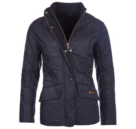 Barbour Cavalry Polarquilt Jacket - Black by Barbour from THE LUCKY KNOT - 1