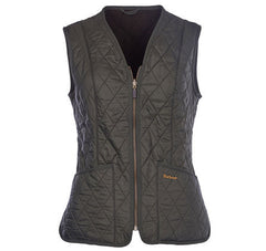 Barbour Fleece Betty Liner Vest - Olive by Barbour from THE LUCKY KNOT - 1