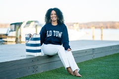 Old Town Crewneck - Navy