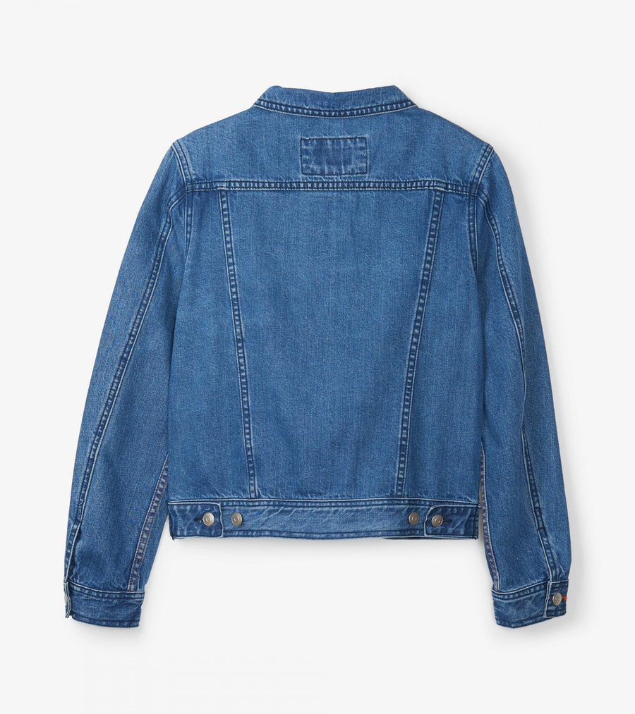 Hatley Cropped Jacket - Denim