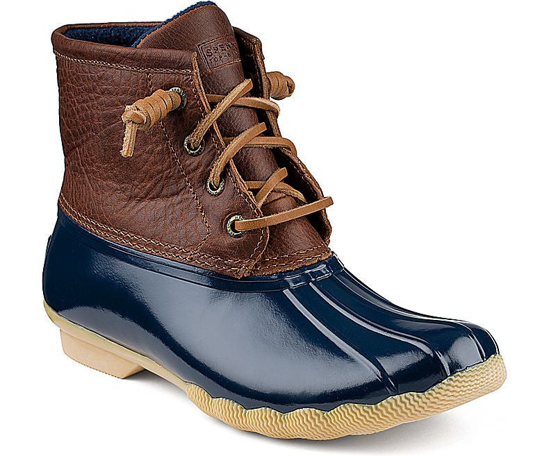 Saltwater Boot Tan/Navy – THE LUCKY KNOT