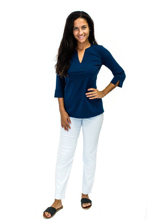 Katherine Way Boca Tunic - Navy