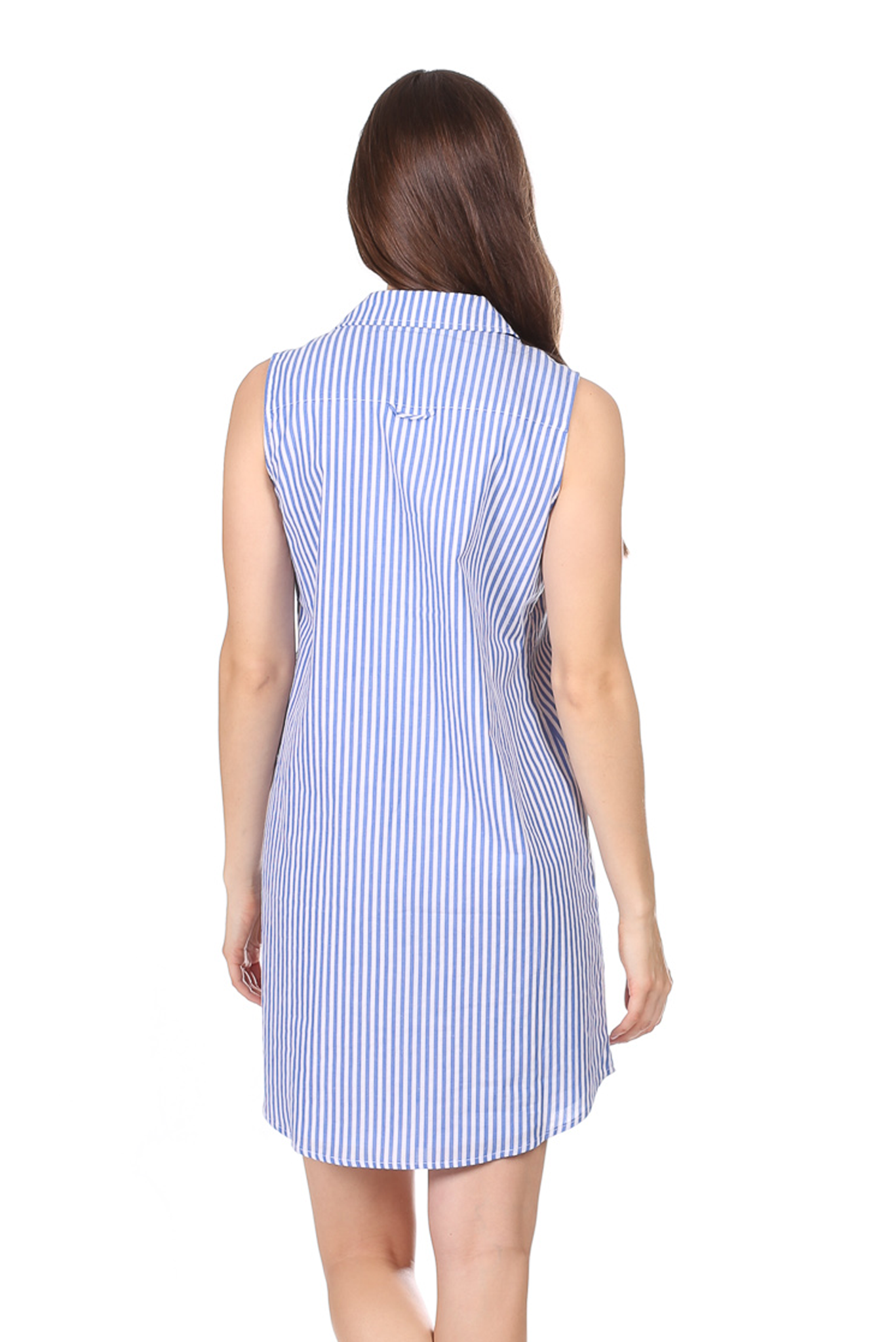 Duffield Lane Lauren Dress - Royal Blue Stripe
