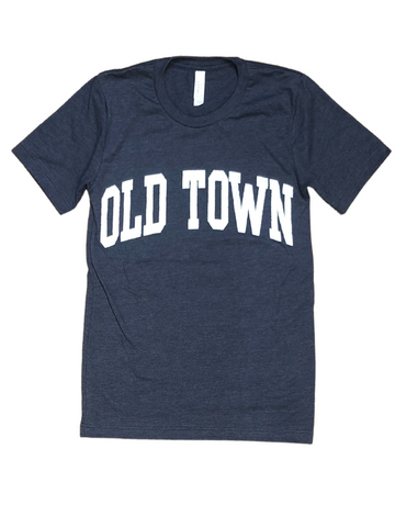 Old Town SS Tee - Navy
