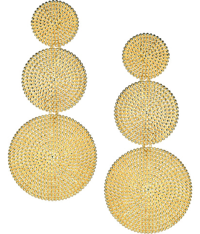 Lisi Lerch Greta Earrings - Gold