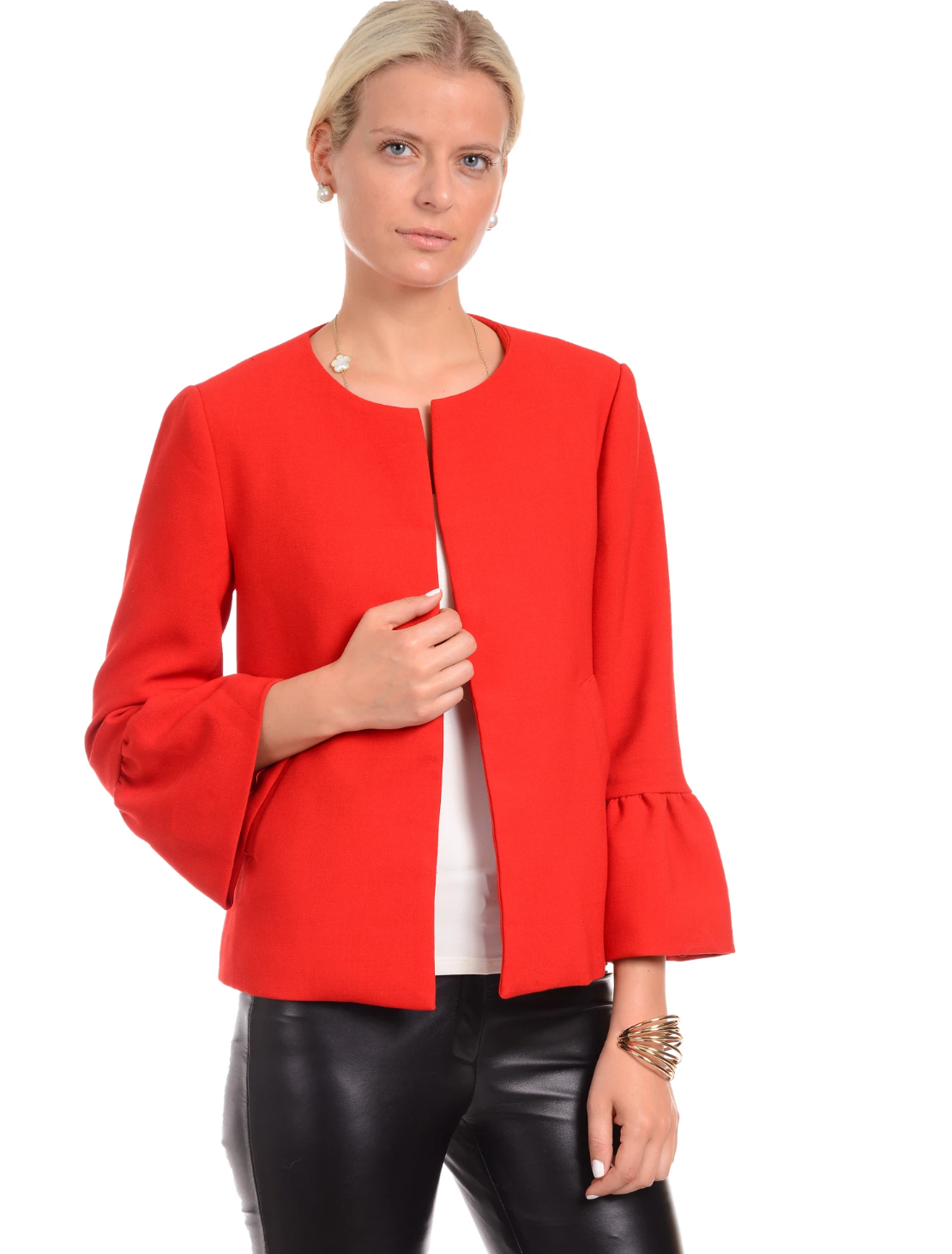 Patty Kim Margaux Jacket - Red