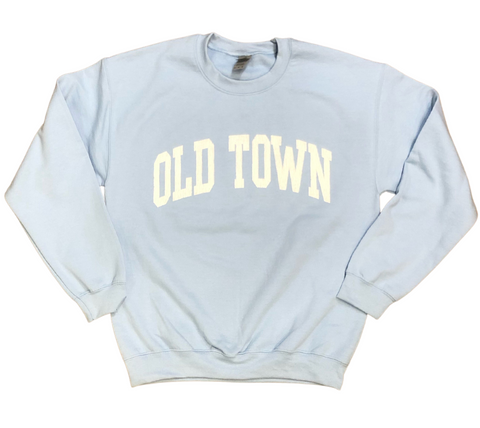 Old Town Crewneck - Blue