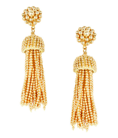 Lisi Lerch Tassel Earrings - Gold