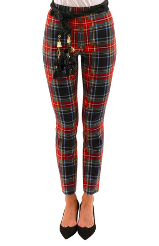 Gretchen Scott Pull On Pant - Duke Of York - Black/Multi