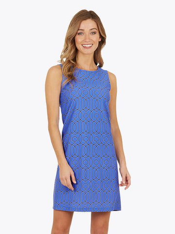 Jude Connally Beth Dress - Garden Gate Dark Peri