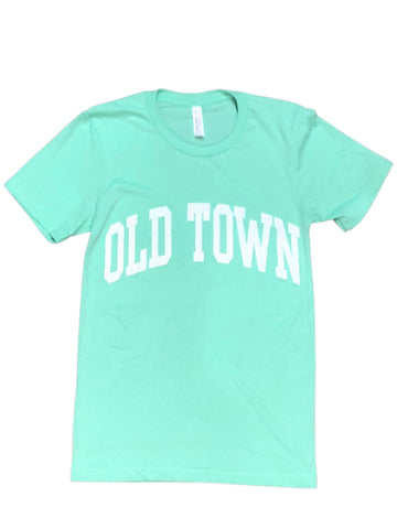 Old Town SS Tee - Mint